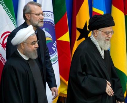 Rouhani Larijani Khameini